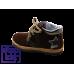 Ботинки коричневый-т.никель/13206