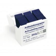 Артикуляционная бумага HANEL 200мкм 300 листов - I-образная форма