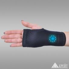 Бандаж для лучезапястного сустав с аппликатором биомагнитным медицинским А-200