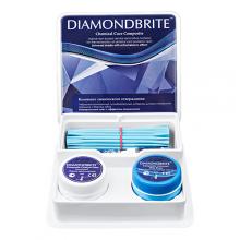 DIAMONDBRITE / Даймондбрайт  материал химического отверждения  (2х14г с принадлежностями)