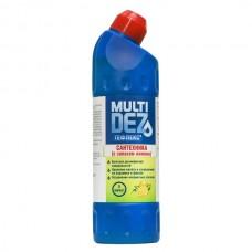 МультиДез-Тефлекс для дезинфекции и мытья сантехники 1 л