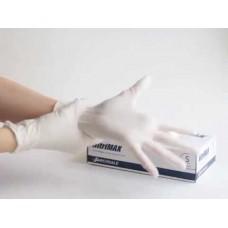 Перчатки Nitrile нитриловые белые смотровые (50 пар)