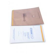 Пакеты бумажные  для воздушной, паровой стерилизации ( 75мм X 150мм)