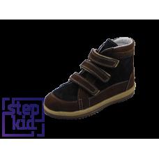 Ботинки коричневый-черный/10209
