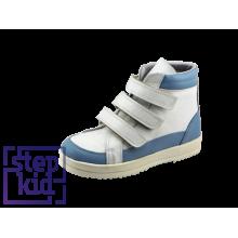 Ботинки св.голубой-белый/10200