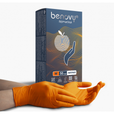Перчатки BENOVY Nitrile (50 пар)