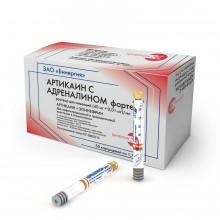 Артикаин с адреналином форте/ ЗАО «Бинергия»  (10 карп.)