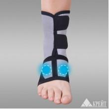 Бандаж для голеностопного сустава с аппликатором биомагнитным медицинским А-250