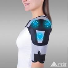 Бандаж для плечевого сустава с аппликаторами биомагнитными медицинскими А-600