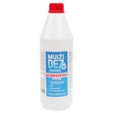 Мультидез (концентрат) 10л дезинфицирующее средство 10 шт по 1л
